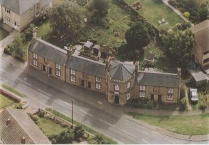Cottenham Almshouses Aerial Photo